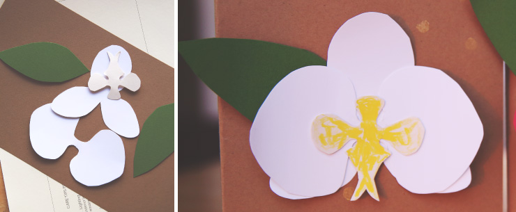 Mother's Day Orchid Card